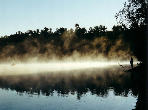 Walden Pond at Sunrise
