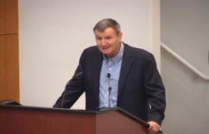 Karl Eikenberry gives a talk about the liberal arts and public service in an ESF plenary session Source: https://www.youtube.com/watch?v=j-urCUsFvF8