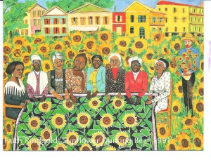 "Faith Ringgold's ""The Sunflowers Quilting Bee at Arles"""