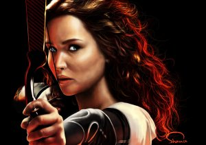 She's fierce. She kind. She's defiant and she free. She's Katniss