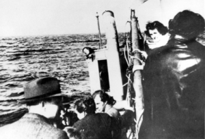 Danish Jews being transported to Sweden Photo Credit: Yad Vashem