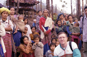 Thomas Van Dyke, Executive Director of Heroes Serving Humanity, Aiding Civilians in Burma  Photo Credit: Heroes Serving Humanity