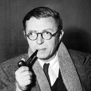 Portrait of Jean-Paul Sartre (wikipedia.org)