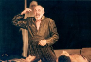 Creon enters the play asserting his absolute authority and belief in the importance of a secure public sphere.  Credit for the photo to: http://skylaproject.com