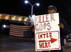 Ferguson Police Protests http://darkroom.baltimoresun.com/2014/10/in-ferguson-a-new-wave-of-protests-against-police/
