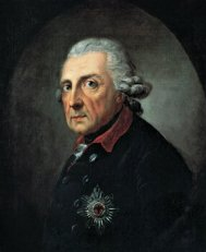 Portrait of King Frederick II by Anton Graff, 1781