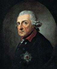Portrait of King Frederick II by Anton Graff, 1781