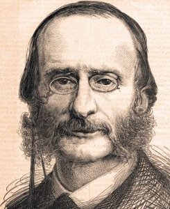 German composer Jacques Offenbach.