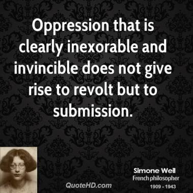 Simone Oppression