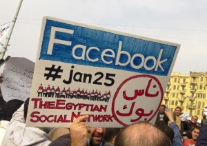 "Social media was a big part of the revolution in Egypt, an indication of the ""young, tech-savvy"" activists."