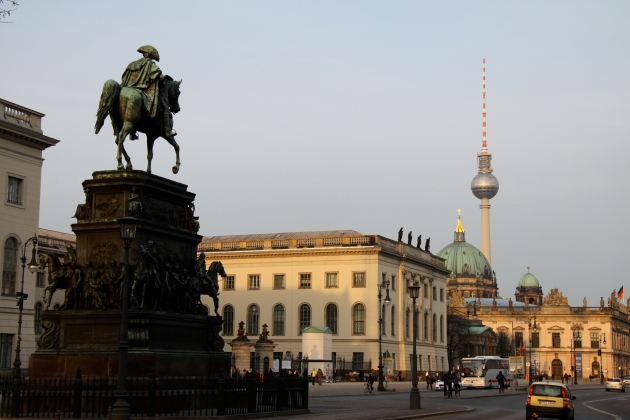 An immortal heritage: the statue of Frederick the Great in Berlin. (Wikimedia Commons)