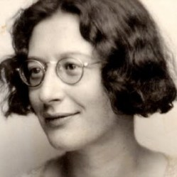 Simone Weil (Image courtesy of http://bookhaven.stanford.edu/tag/simone-weil/)